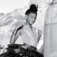Willow Smith in Elles May 2011 Women In Music issue