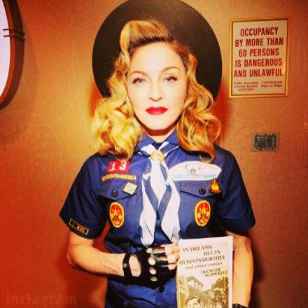 Madonna Boy Scout