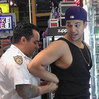 Rob Kardashian is Handcuffed for Attacking Paparazzi