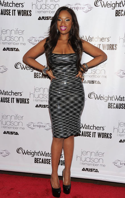 Jennifer Hudson has lost weight, now has a new slender body